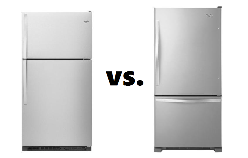 Marvelous Refrigerator Top Freezer Vs Bottom 1