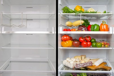 Empty vs Full Refrigerator | Long Island Frigidaire Refrigerator Repair