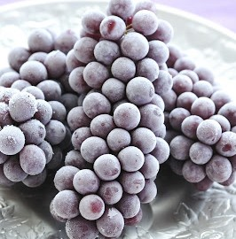 Frozen Grapes | Speedy Refrigerator Service