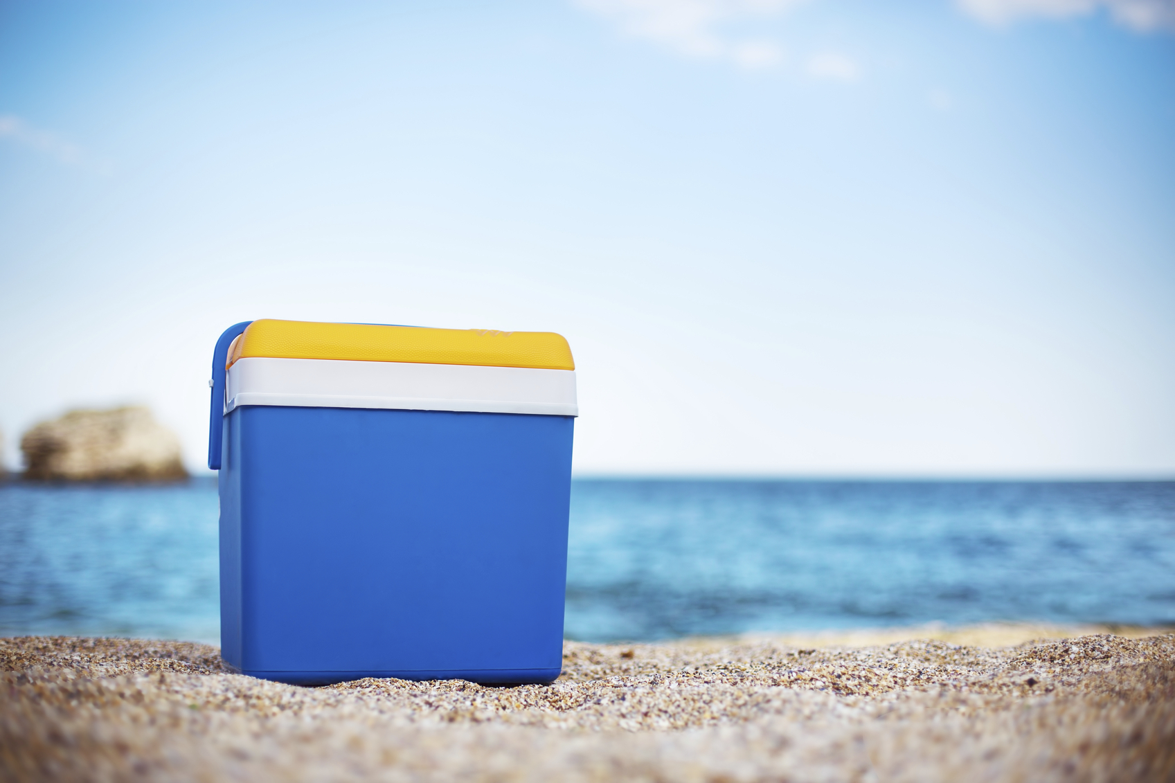 Image result for cooler box on beach