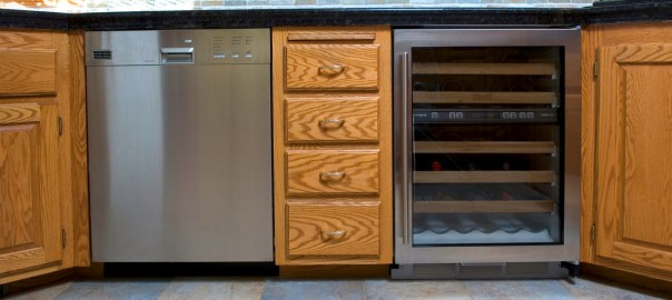 Wine Cooler in Kitchen | Refrigeration Service Nassau County